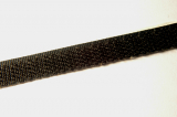 Ruban-crochets 10mm noir 1 mètre